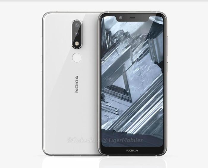 Bocoran tampang Nokia X5. Foto: istimewa