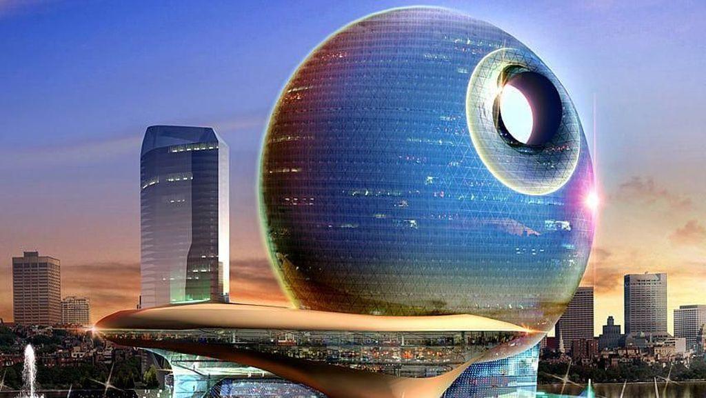 Bikin Geleng-geleng, Ini 10 Gedung Aneh yang Ada di Dunia