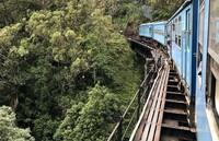 Kereta ikonik di Sri Lanka yang belum bisa dinikmati turis (Foto: Mihiri Wikramanayake)
