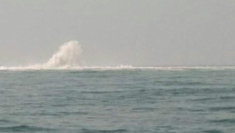 Kapal Sudah Boleh Melintas Dekat Pipa Gas Bocor di Perairan Banten