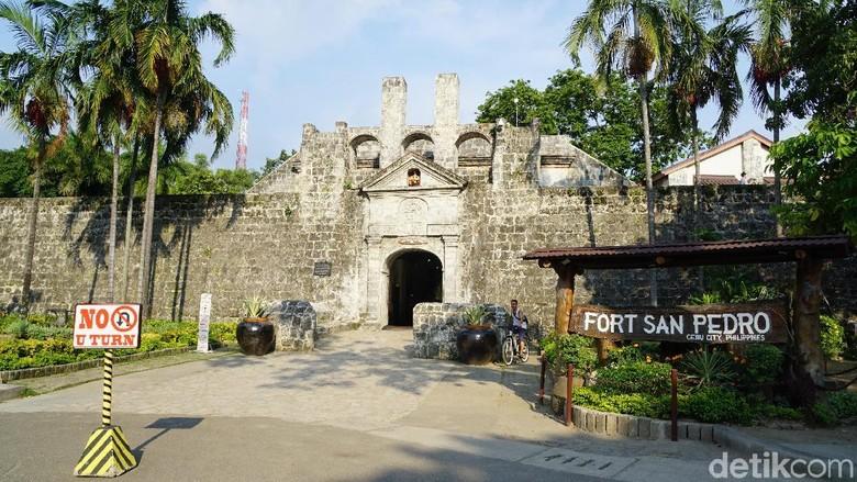 Foto: Benteng San Pedro di Cebu, Filipina (Syanti/detikTravel)
