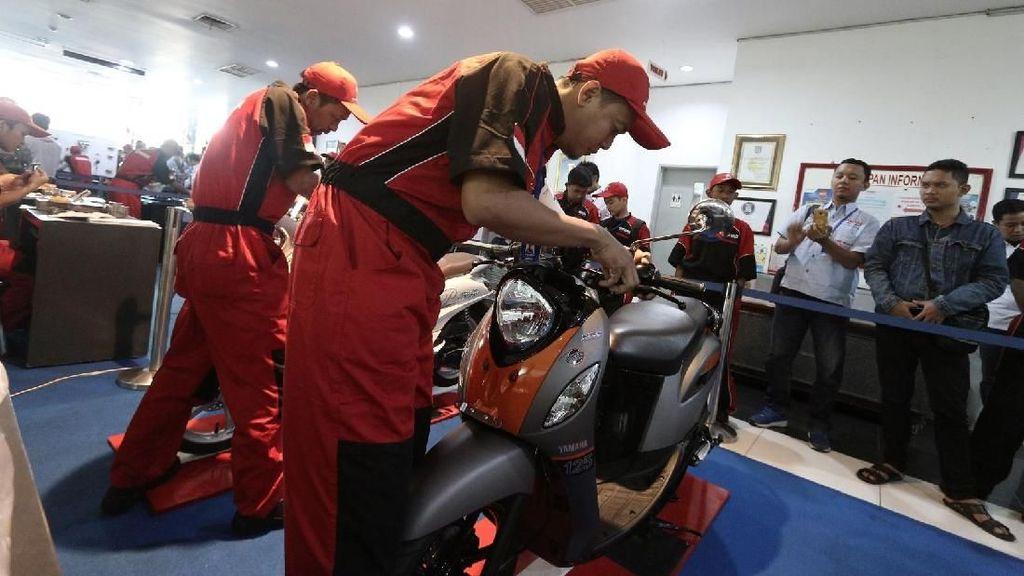 Kontes Teknisi Yamaha Se-Indonesia, Ini yang Terbaik
