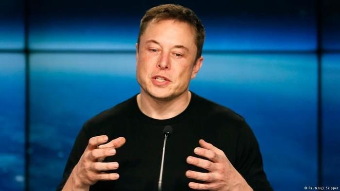 Elon Musk. Foto: DW (Soft News)