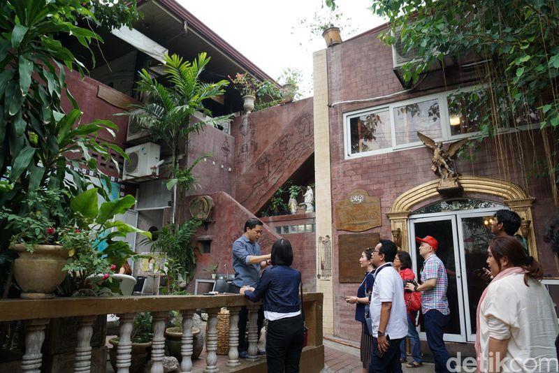 Rumah ini bernama Casa de Cacao. Berada di Casals Village, Mabolo, Cebu, Filipina (Syanti/detikTravel)