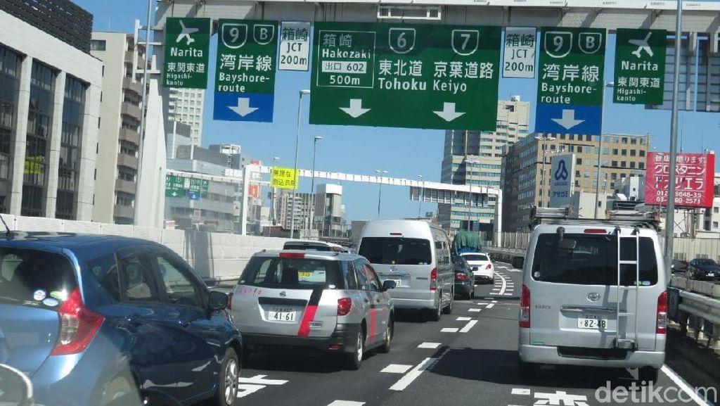 Tol di Jepang Juga Sering Macet, Ini Buktinya