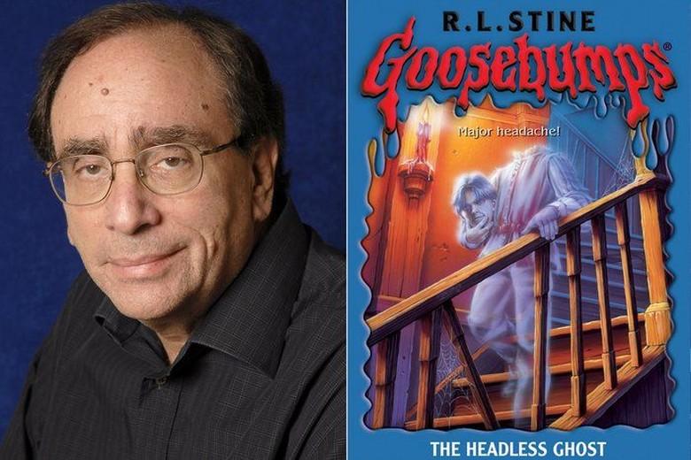 Penulis Goosebumps Tulis 4 Buku Komik Humor