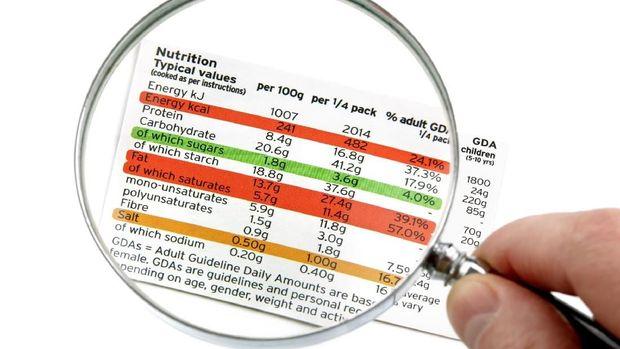 Warna-warni pada tabel nutrisi diistilahkan mirip traffic light.