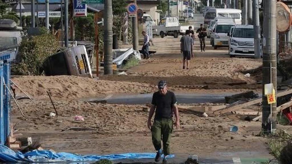 Korban Tewas Banjir Dahsyat di Jepang Bertambah Jadi 179 Orang
