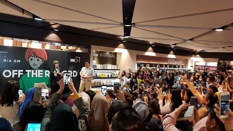 Ria SW Bakal Jumpa Pembaca di Bandung Akhir Pekan Ini