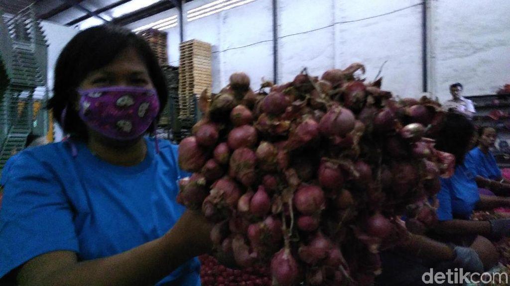 RI Ekspor 6.000 Ton Bawang Merah ke Singapura