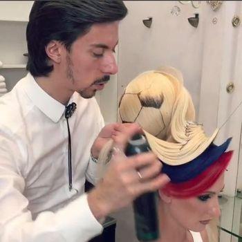 Rambut bola karya Georgy Kot.