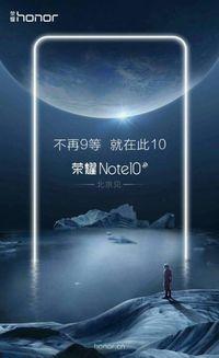 Honor Note 10 Siap Hadir dengan Spek Menggoda