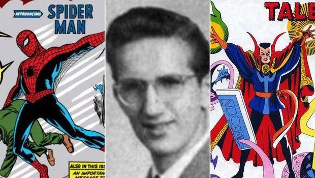 Komikus Pencipta 'Spider-Man' dan 'Doctor Strange' Tutup Usia