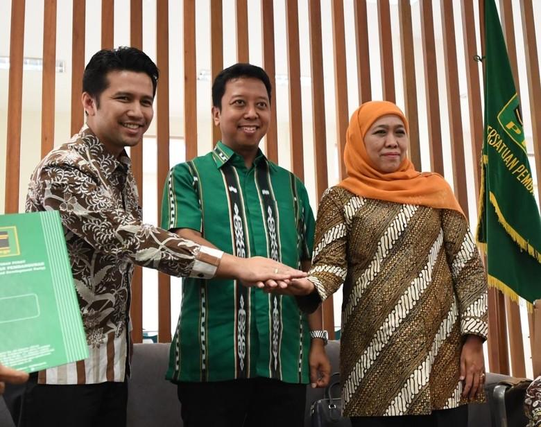 Bertemu Ketum PPP, Khofifah Tegaskan Dukung Jokowi