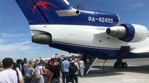 Foto: Sensasi Naik Pesawat di Rusia, Beda!