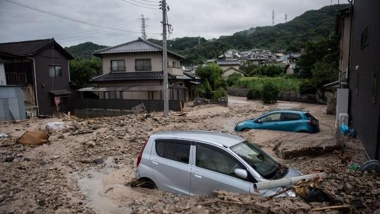 Petaka Banjir Jepang Tewaskan 200 Orang Lebih