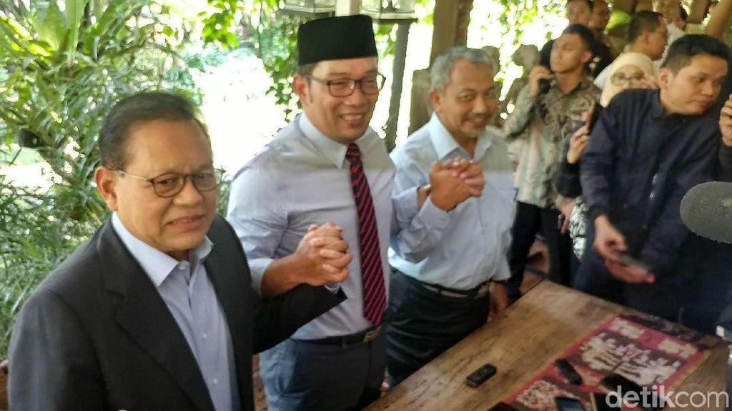 Sudrajat-Syaikhu yang Melunak Beri Selamat ke Ridwan Kamil-Uu