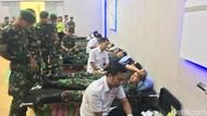 Stok Kosong, Polisi, TNI dan Warga Mojokerto Kompak Donor Darah