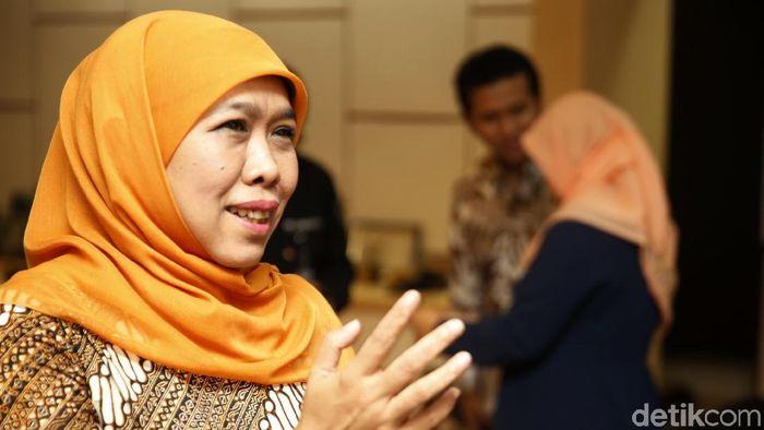 Gubernur Jawa Timur Khofifah Indar Parawansa/Foto: Rachman Haryanto
