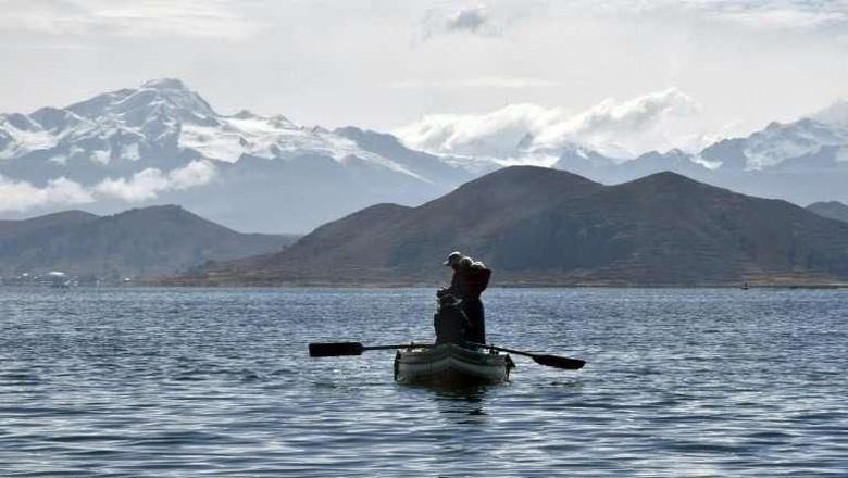Foto: Ilustrasi Danau Titicaca di Bolivia (AFP)