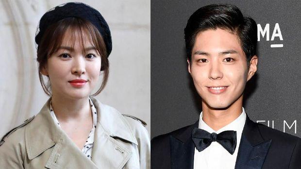 Rumor beredar kencang soal hubungan Song Hye-kyo dan Park Bo-gum usai drama 'Boyfriend'.