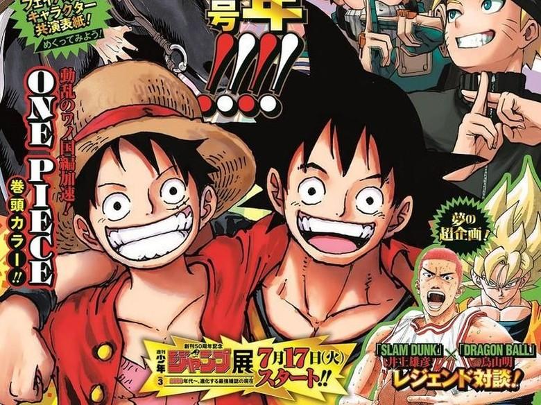 One Piece, Manga Terpopuler Jepang dari Era Heisei Foto: Istimewa