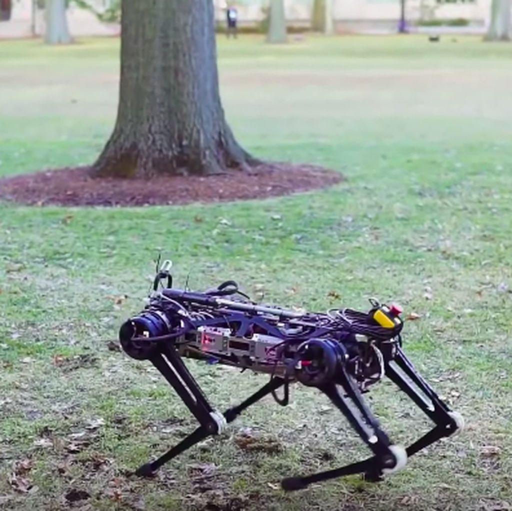 Inovasi Baru: Perbaiki Mesin Pesawat dengan Robot Kecoak