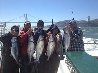 Tur memancing di sekitar Teluk San Francisco (Fisherman's Wharf)