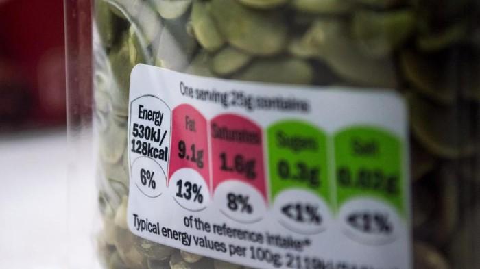 Warna-warni pada tabel nutrisi memudahkan konsumen mengidentifikasi kandungan dalam suatu produk pangan (Foto: thinkstock)