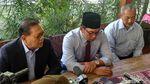 Kompak! Ridwan Kamil, Sudrajat dan Syaikhu Bertemu Pakai Kemeja Biru