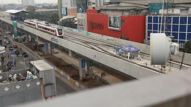 Ditarget Tuntas 2019, Pembangunan LRT Jabodebek Baru 49,1%