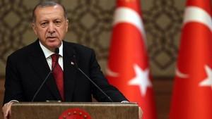 Erdogan: Teroris Ekonomi di Medsos Ingin Rusak Turki