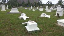 13 Nisan Makam Belanda di Aceh Patah, Penyebab Masih Misterius