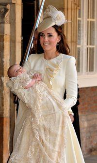 Kate Middleton Saat Pembaptisan Pangeran George/