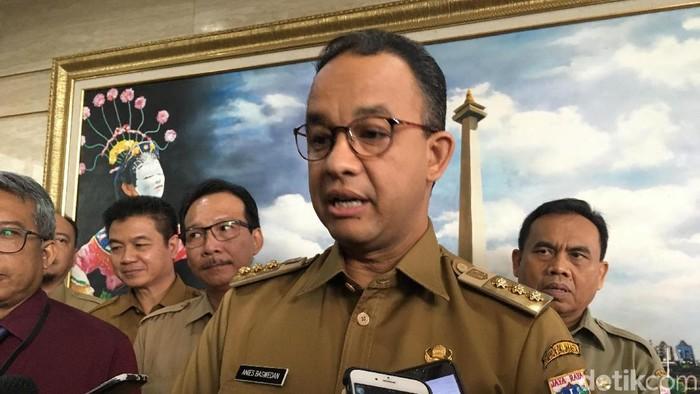 Foto: Gubernur DKI Jakarta Anies Baswedan. (Indra Komara/detikcom)
