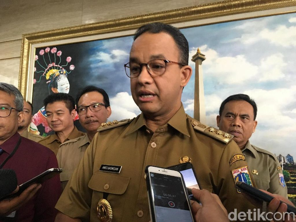 Anies soal Pencopotan Wali Kota: Seru Ya Ada Drama