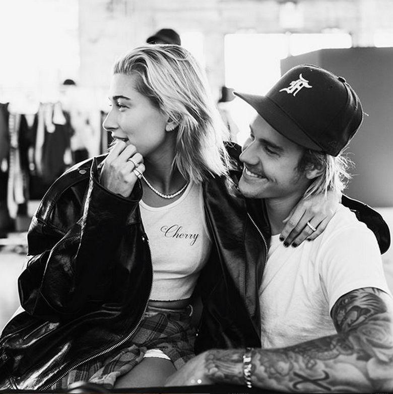 Justin dan Hailey Baldwin resmi bertunangan pada pekan lalu. Keduanya bertunangan di salah satu restoran. Foto: Dok. Instagram/justinbieber