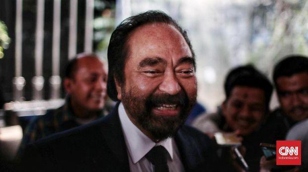 Ketua Umum Partai NasDem Surya Paloh, Jakarta, 10 Juli.