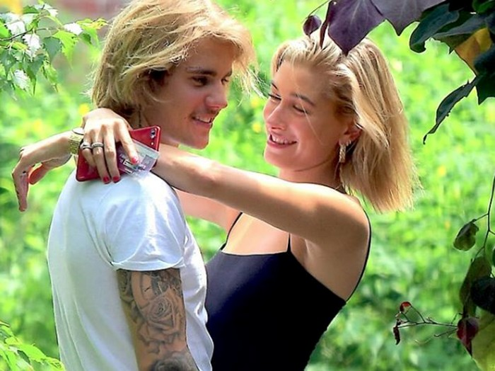 Justin Bieber dan Hailey Baldwin. Foto: Instagram