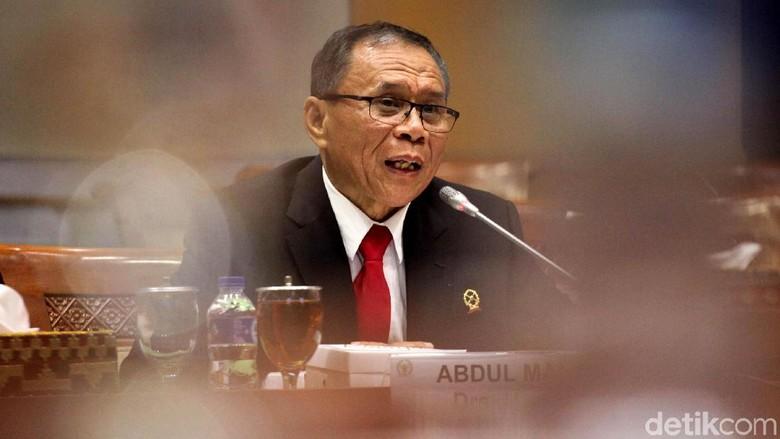 Abdul Manaf Jalani Fit and Proper Test di DPR