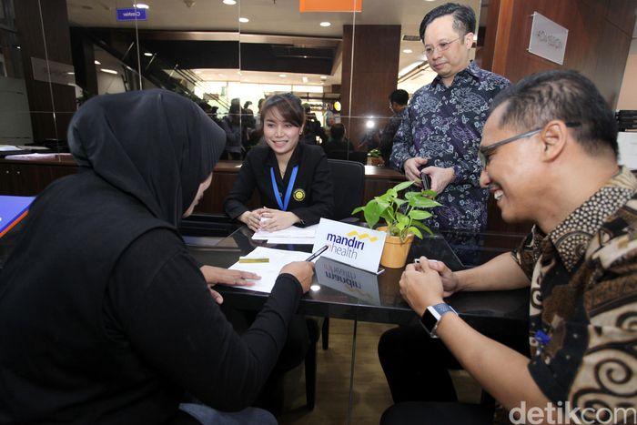 Mandiri Inhealth membuka konter khusus Mandiri Inhealth di Siloam Hospital TB Simatupang, Jakarta.