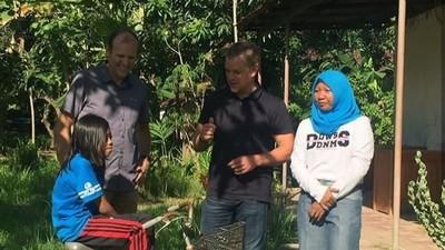 Matt Damon, Sosok Ayah yang Peduli Air Bersih