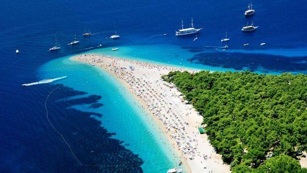 Zlatni Rat, disebut pantai tercantik di Eropa