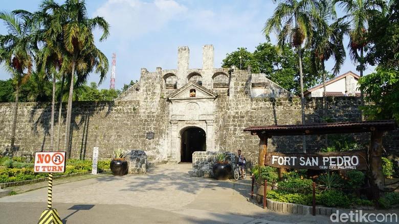 Foto: Benteng Fort San Pedro (Syanti/detikTravel)