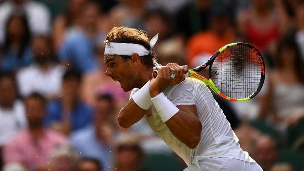 Rafael Nadal menundukkan Jiri Vesely di babak 16 besar Wimbledon