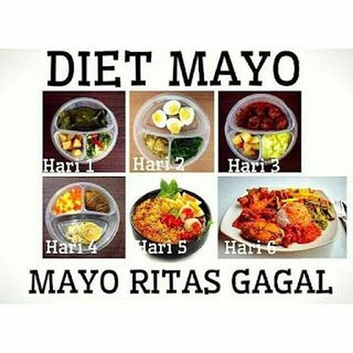 Mau kurus, sampai-sampai menjalani diet mayo. Yah ujung-ujungnya tetep mayo ritas gagal. Duh, sabar ya! Foto: Istimewa