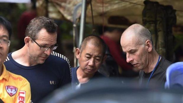 John Volanthen dan Richard William Stanton, penyelam Inggris yang selamatkan remaja dalam gua di Thailand /