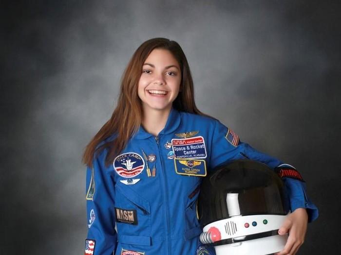 Foto: Alyssa Carson: gadis calon orang pertama di mars nasa