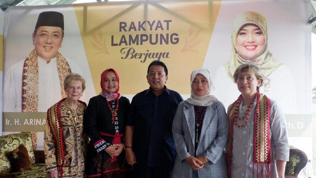 Arinal-Nunik Siap Promosikan Budaya Lampung ke Australia