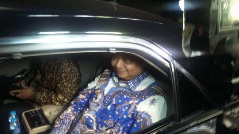 Temui SBY, Airlangga Jamin Tak Ada Koalisi Baru